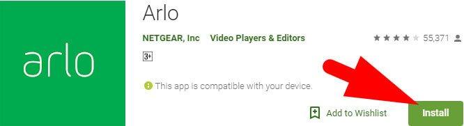 arlo app download