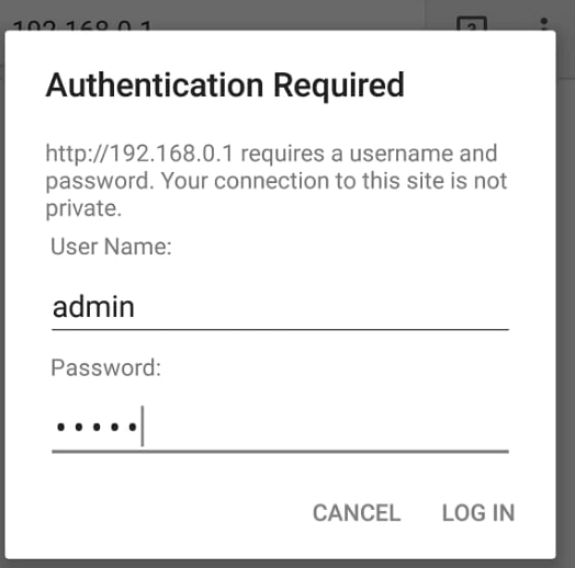 wifi password show show on android