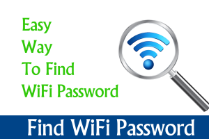 how to find my wifi password for windows pc