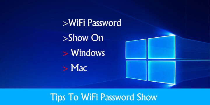How to WiFi Password Show On PC