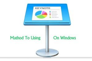 Keynote for windows pc