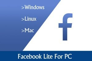 Download facobook lite for PC