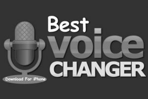 voice changer app for iPhone