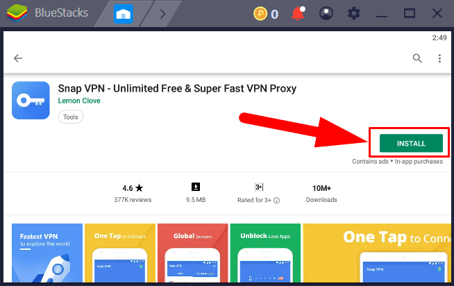 Snap VPN For PC Windows Mac Free Download With Private Browser