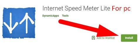 nternet Speed Meter Lite For PC