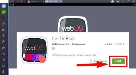 lg tv plus for windows pc