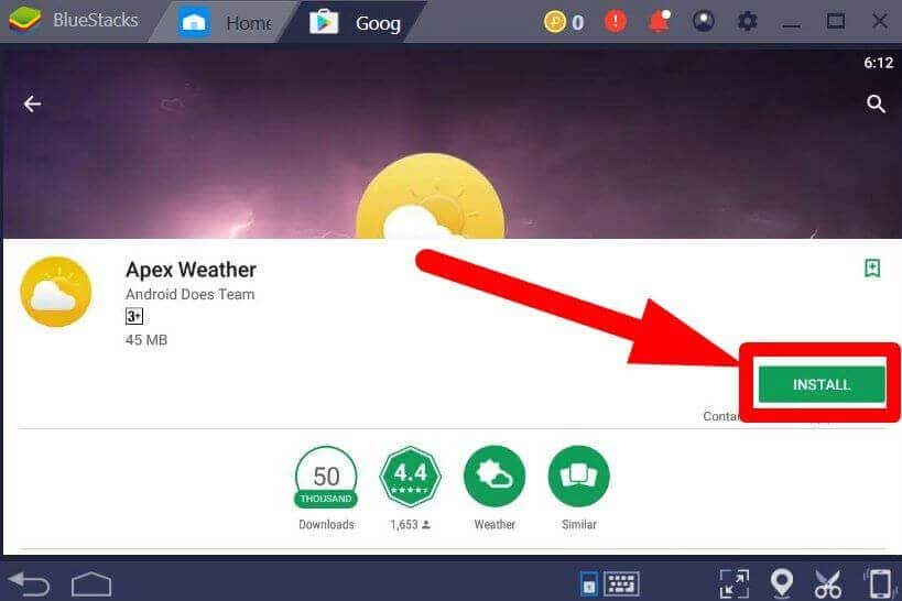 download apex weather for pc