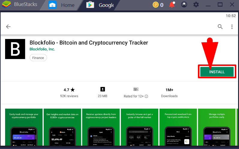 Download Blockfolio for PC