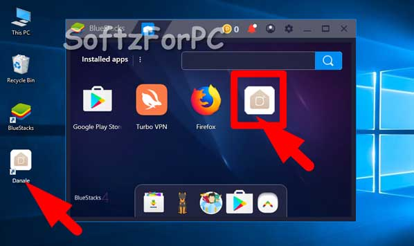 Step by step process to download the Danale app for PC