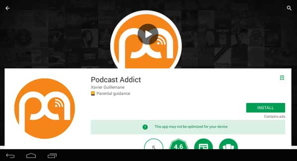 new version podcast addict pc download