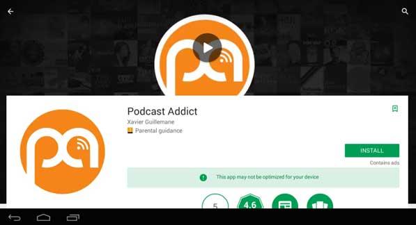 new version podcast addict pc download