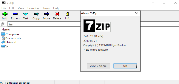 7-Zip encryption software is the best for data encryption