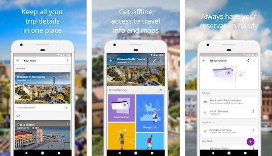 Benefits of Google Trips App For PC