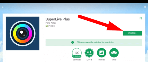 How to install SuperLive Plus on PC by using android emulator