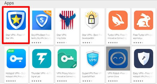 how to findout Star VPN app for pc Windows and Mac